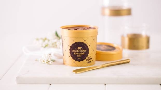 It's not like other chocolate spreads, it's literally butter and chocolate - delicious.