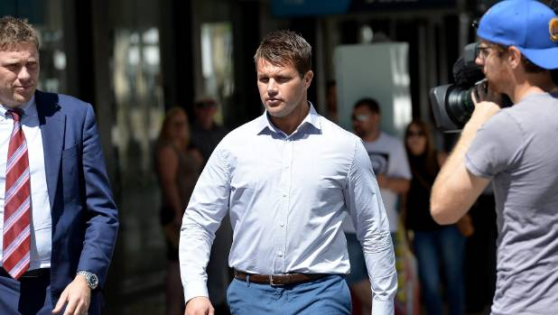 Gable Tostee arrives at the Supreme Court in Brisbane on Wednesday.