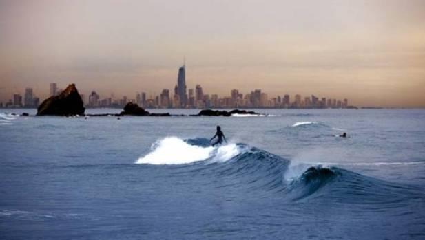 Surf mecca ... Coolangatta Beach.