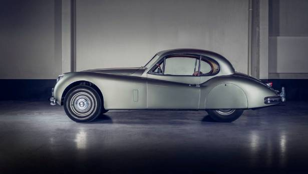 This 1950s Jaguar XK 140 FHC is expected to fetch between $120,000 and $140,000