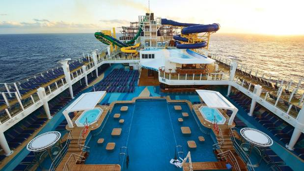 Norwegian Escape's Aqua Park is the largest at sea and includes two pools, four hot tubs and waterslides.