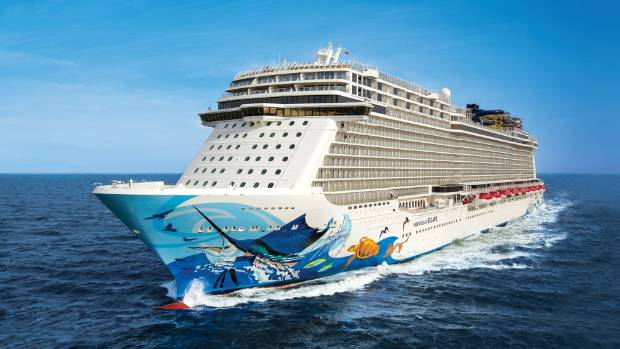 Norwegian Cruise Line also boasts the largest ropes course at sea; it spans the entire width of the ship.