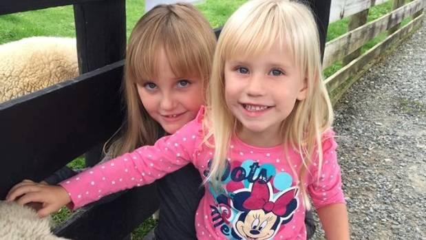 Rhonwyn's Kiwi daughters, Maddi, 6 and Olivia, 3.