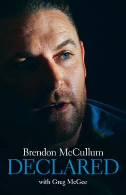 Cover shot of Brendon MCullum - Declared.