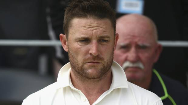 Brendon McCullum retired from international cricket in February.