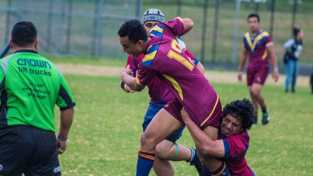 Momoisea in action for St Paul's College.