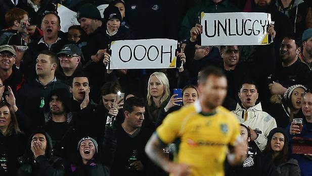 The crowd's reaction to Quade Cooper being sent from the field last year was predictable.