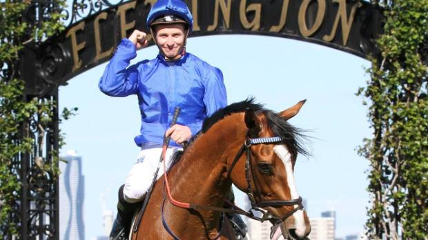 Kiwi jockey James McDonald is hoping to play the villain and crash Winx's party at Moonee Valley.