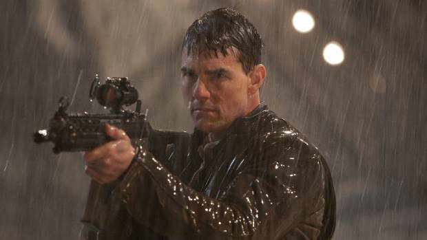 Tom Cruise, in between installments of Mission: Impossible, divorces and whatever the hell it is that Scientologists get ...