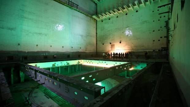 816 underground nuclear plant is said to be the largest artificial nuclear power plant in the world.