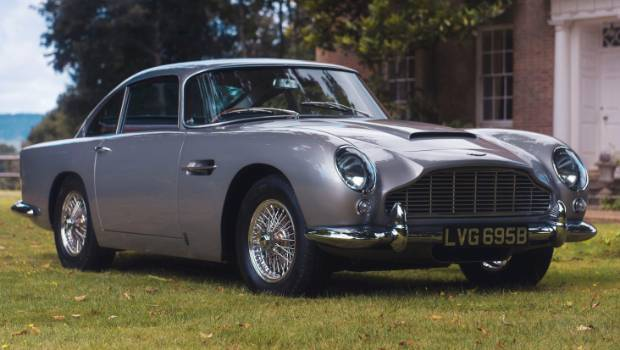 Buy Now Button On Phone Secures Aston Martin DB For NZm - 1965 aston martin db5