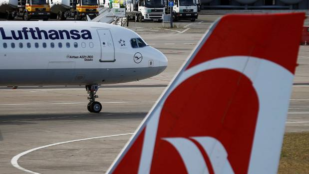 Lufthansa has sent a replacement aircraft to fly the passengers to Florida as well as technicians to investigate the ...