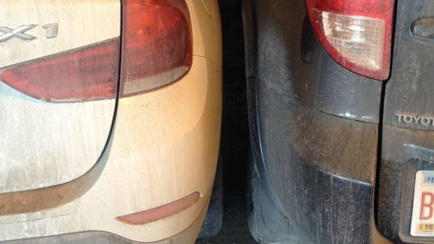 Parking too close? Yep, annoying.