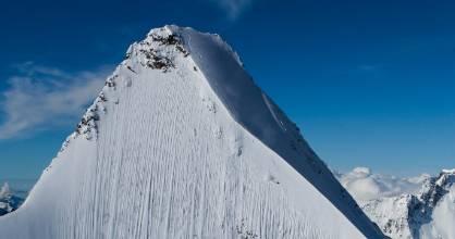 Jeremie Heitz in the Pennine Alps.