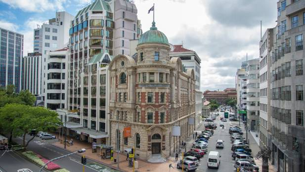 The Public Trust building on the corner of Stout St and Lambton Quay in Wellington will become a one-stop-shop for all ...