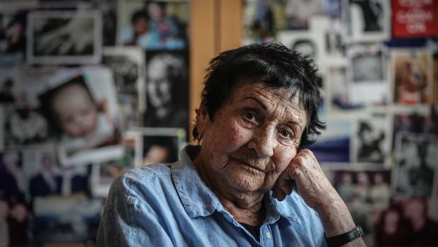"""Marti Friedlander at her home in Parnell, Auckland. """"I never look in the mirror."""""""