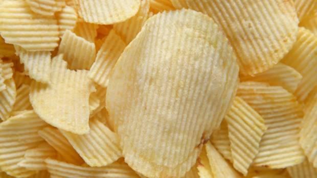 The crunchier the potato chip, the tastier it seems.