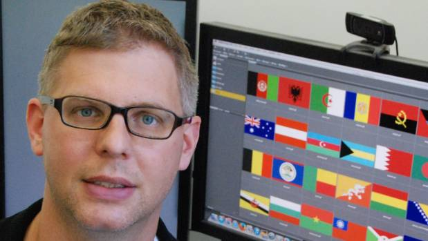 Associate professor Christoph Bartneck has studied flags but is no expert in nuclear physics.