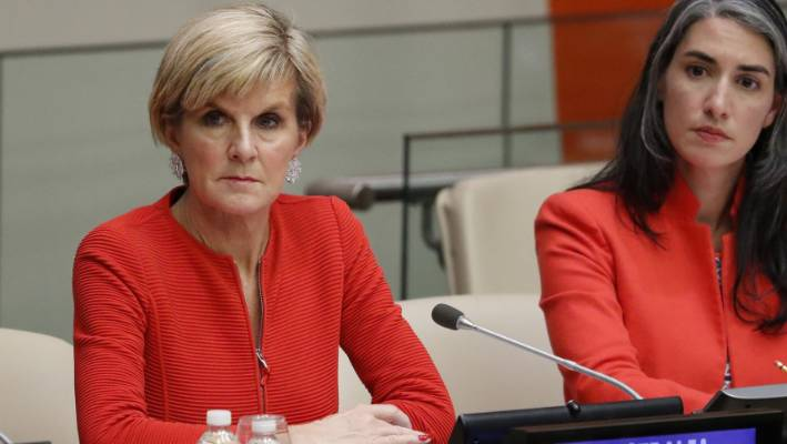 Australian Foreign Minister Julie Bishop said there are about 110 Australians currently fighting in or engaged with a terrorist organisation.