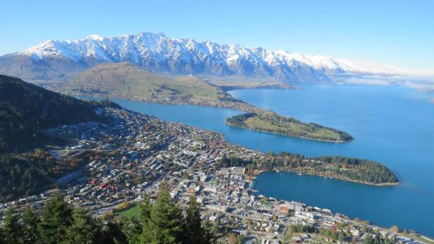 Queenstown - popular with the rich and famous.