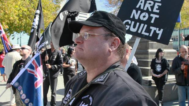 Right Wing Resistance founder Kyle Chapman.