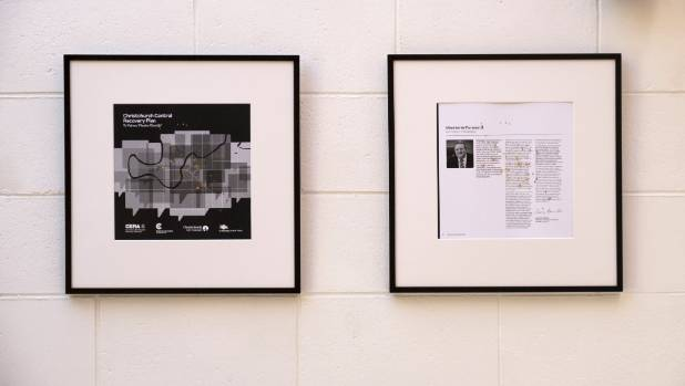 """A companion piece in Mileo's """"There are holes in the documentation"""" maps lost heritage across the Blue Print's opening ..."""