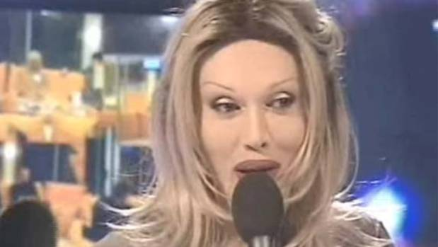 Pete Burns appears on Celebrity Big Brother.