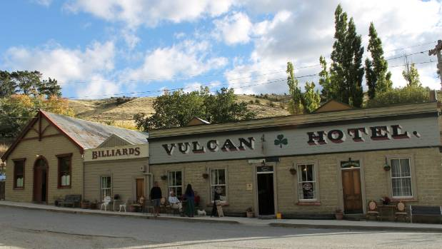 The Vulcan Hotel in Saint Bathans is said to be New Zealand's most haunted building.