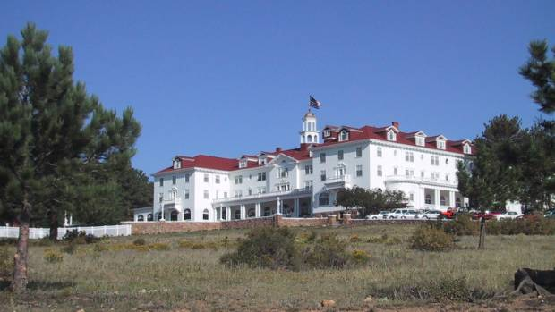 Don't go into the Redrum... Stanley Hotel in Colorado inspired Stephen King's The Shining.