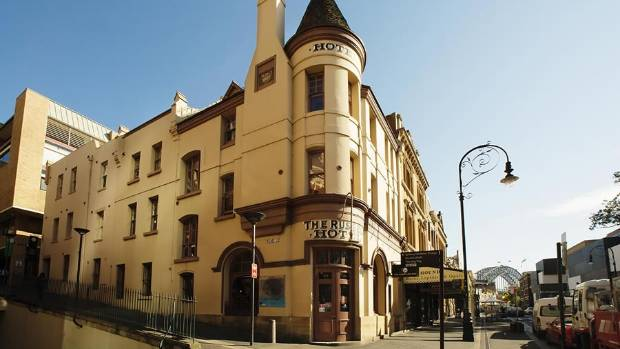 The Russell Hotel is located in The Rocks, one of Sydney's oldest areas.