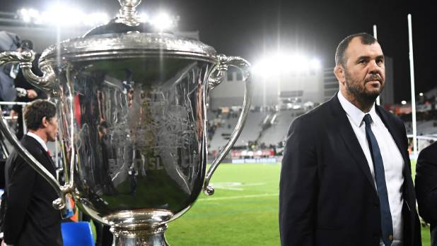Will Wallabies coach Michael Cheika get any closer to the elusive Bledisloe Cup in Sydney on Saturday night?