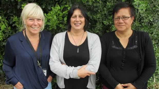 Counties Manukau Children's Team lead professionals, from left, Michelle Spain and Cindy Maddix, and supervisor Dolly ...