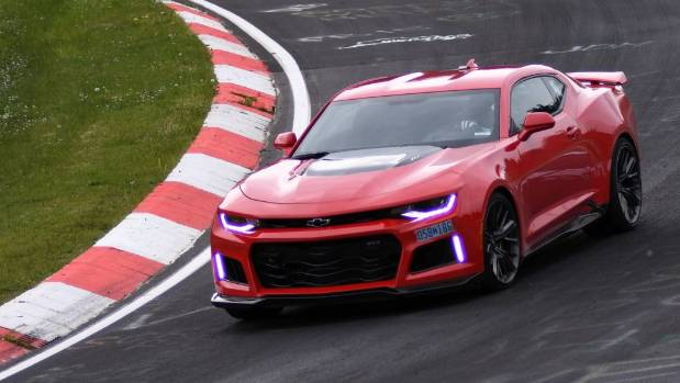 how fast was the chevrolet camaro zr1 39 s nurburgring lap. Black Bedroom Furniture Sets. Home Design Ideas