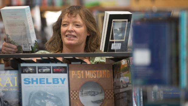 Christchurch's Scorpio Books co-owner Jo Hewitson says that while business has been rocky over the last few years, ...
