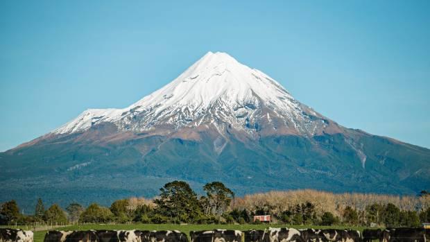 Lonely Planet said Mt Taranaki was 'picture perfect'.