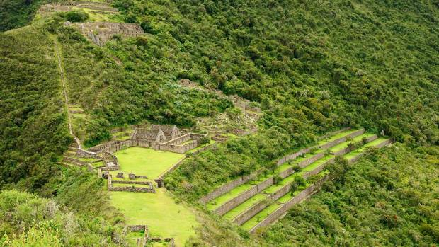 Choquequirao, Peru, which has lost ruins, like a mini Machu Picchu, was chosen as the best region in the world to visit.