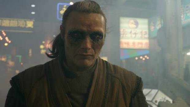 Mads Mikkelsen plays the villain in Marvel's Doctor Strange.