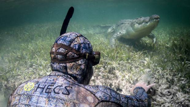 Forrest Galante believes the Kiwi designed stealth suit mimicking crocodile hide played a key part in making the ...