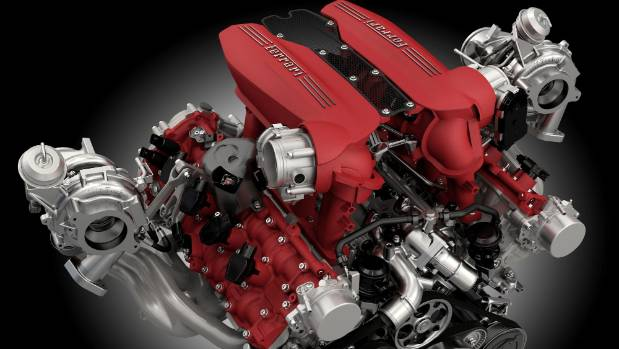 The five best v8 engines available stuff ferrari not just an awesome v8 but also reigning international engine of the year sciox Choice Image
