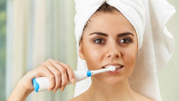 A new survey shows 85 per cent of Kiwis are brushing their teeth too hard.