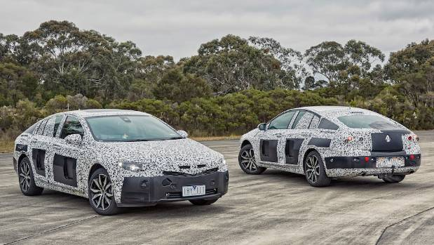 Your new Commodore is ready... almost. So-called 'IV' cars are 65 per cent finished.