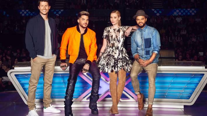 The X Factor's Adam Lambert slams fellow judge Iggy Azalea ...