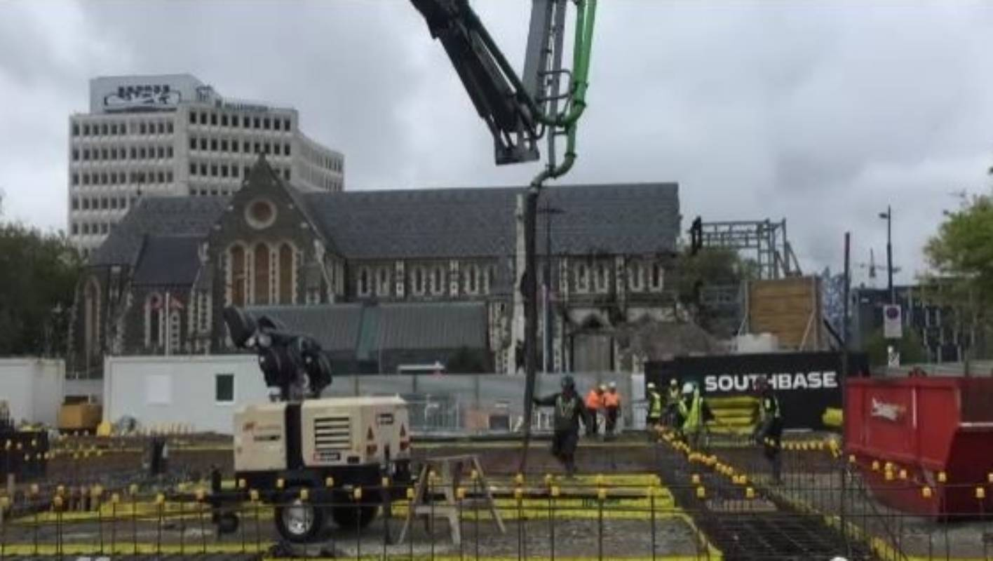 Christchurch Central News: New Christchurch Central Library's First Foundations
