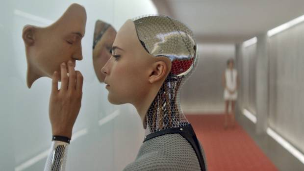 Is this the future? Artificial intelligence threatens to outsmart humans in the 2015 film Ex Machina.