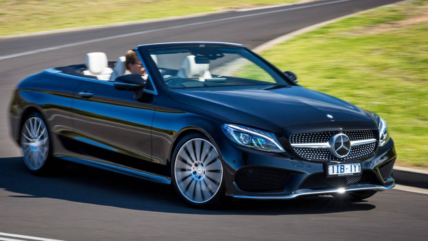 Mercedes C Class Cabrio Spells Summer With Capital S