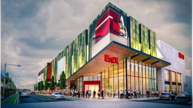 Christchurch Central News: New Image Of Proposed Central Christchurch Cinema And Food