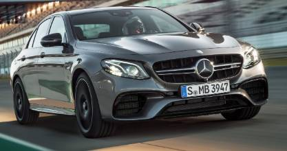 The new 2017 Mercedes-AMG E 63.