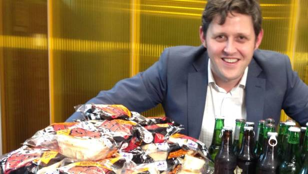 Newshub reporter Julian Lee ate nothing but pies for a month and lost around eight kilos.