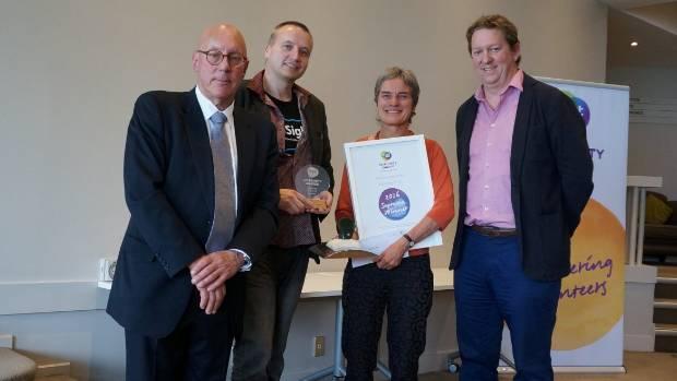 Catalyst Trust was the Supreme Winner of the Queenstown Lakes Trustpower Community Awards. QLDC Mayor Jim Boult, ...