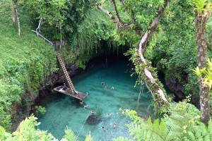 To Sua Ocean Trench is a must-see if you're travelling to Samoa.